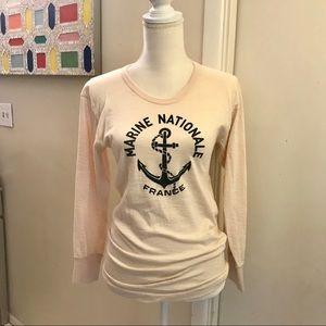 ✨EUC Vintage Marine Nationale France Shirt